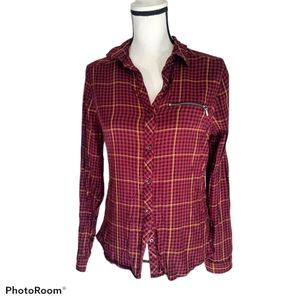 Maurices long sleeve button up shirt small